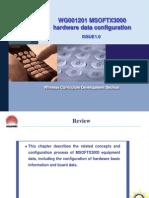 5WG001201 MSOFTX3000 Hardware Data Configuration ISSUE 1.0