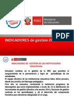 Indicadores de   gestión - VIDAURO