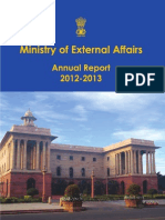 India Foreign policy 2012-2013