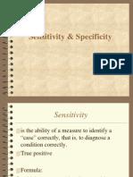 Sensitivity & Specificity (2)