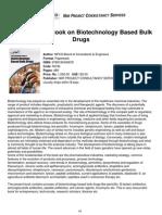 The Complete Book on Biotechnology Based Bulk Drbulk drugugs