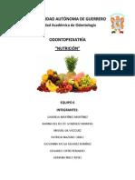 Resumen Nutrición