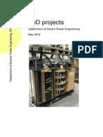 Phd Summary 2012