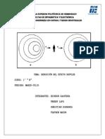 Deducción del efecto Doppler
