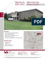 Brookhaven GA City Hall lease flyer for 4362 Peachtree Rd