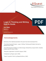 Logic in Thinking and Writing How-to Guide