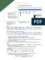 02 Excel Uygulama Notlari