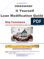 Do It Yourself - Loan Modification eBook Pub2009 Ver2