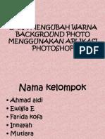 Cara Mengubah Warna Background Photo Menggunakan Aplikasi Photoshop