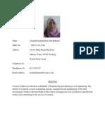 Resume Civil