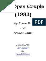 The Open Couple - Dario Fo and Franca Rame