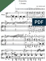 Bruch Violin Concerto 1 Score