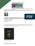 Hawkings 60 Years