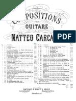 Mateo Carcassi - Op. 33 Fantasía sobre la ópera Le Muette de Portici