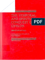 The Temporal and Spiritual Conquest of Ceylon - Vol. II