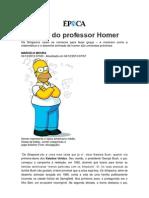 As Aulas Do Professor Homer