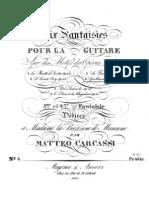 Mateo Carcassi - Op. 36 Fantasía sobre la ópera Guillermo Tell