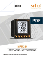 Multifunction Meter MFM384 Operating1