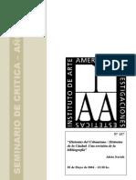 Alicia Novick. Historias Del Urbanismo - Historias de La Ciudad. Una Revison de La Bibliografia