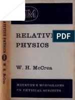 Relativity Physics
