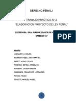 TP2 Proyecto de Ley Genocidio