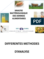 Analyse Des Denrees Alimentaires
