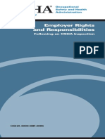 OSHA 3000 - Employer Rights and Responsibilities