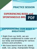 Dr. Mukund Vinayak Bhole - Small Pratice Session - Yoga Anubhava