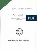 Thomas Hardy & Romantic Tradition