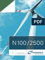 Nordex N100 GB Web