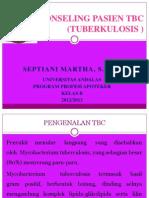 Konseling Pasien Tbc Septiani Martha