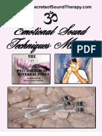Emotional Sound Techniques Manual Download