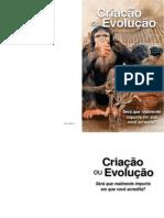 Criação ou Evolução PCE