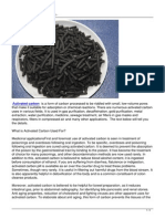 Activated Carbon Uses