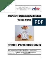 Fish Processing Y3