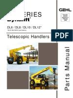 DL6 DL8 DL10 DL12 Dynalift Parts Manuals