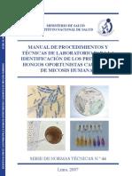 Manual de Procedimiento y Tecnicas de Laboratorio...