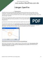 IM Server Lokal Dengan OpenFire