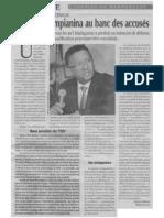 2013/11/12 -  Investigations auprès du Greffier en Chef de la Cour Electorale Spéciale et de l'ancien Ministre de la justice, Imbiki Anaclet (Express de Madagascar du 12 novembre 2013) - Andrianjo dit Zo Razanamasy/Me Rija Rakotomalala
