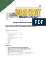 Recept Wildragout