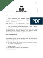 Contoh Draft Ponjong Metodologi