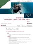 Sales and Distribution Sales Order - Create Sales Order VA01