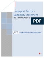 Capstat 2013- Transport Sector