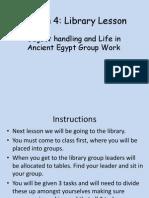 Lesson 3 Library Lesson 4 Intro