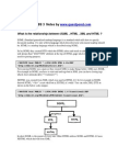 HTML 5 and CSS 3 Notes
