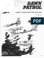 Dawn Patrol - Game Rules