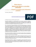 Aguirre, Rafael - Del Movimiento de Jesus a La Iglesia Cristiana