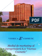 Marketing - Mediul de Marketing Al Intreprinderii Sa Viorica-cosmetic.[Conspecte.md]