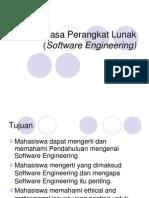 Rekayasa Perangkat Lunak (Software Engineering) Overview