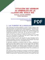 Bormida, Jeronimo - La Constitucion Dei Verbum en Los Umbrales Del Siglo Xxi